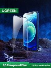 Ugreen – protecteur d'écran de téléphone, couverture complète transparente en verre 9D pour iphone 12 11 Pro Max