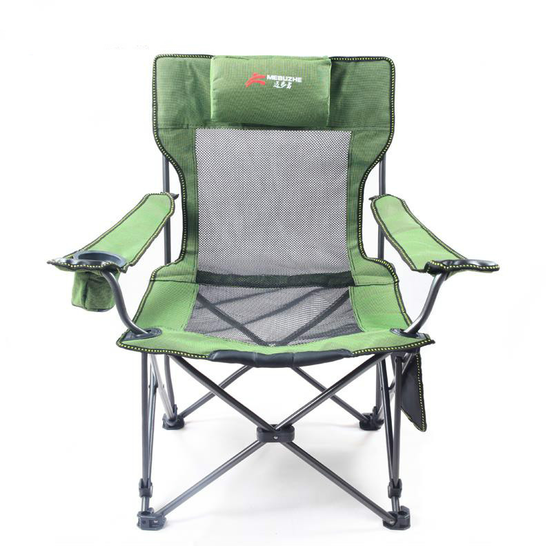 New Armchair Portable Foldable Chairs Fishing Stool Camping Beach Chairs Outdoor Garden Picnic Travel Chair Outdoor Chair