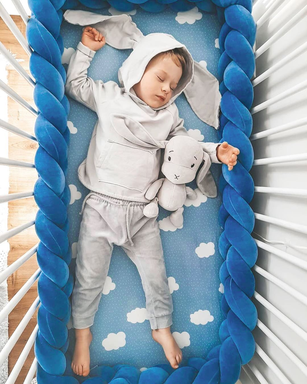 3 м перила кроватки кровать узлом оплетки на диванную подушку, Tour De France горит Bebe Tresse детская кроватка бампер Parachoques Cuna