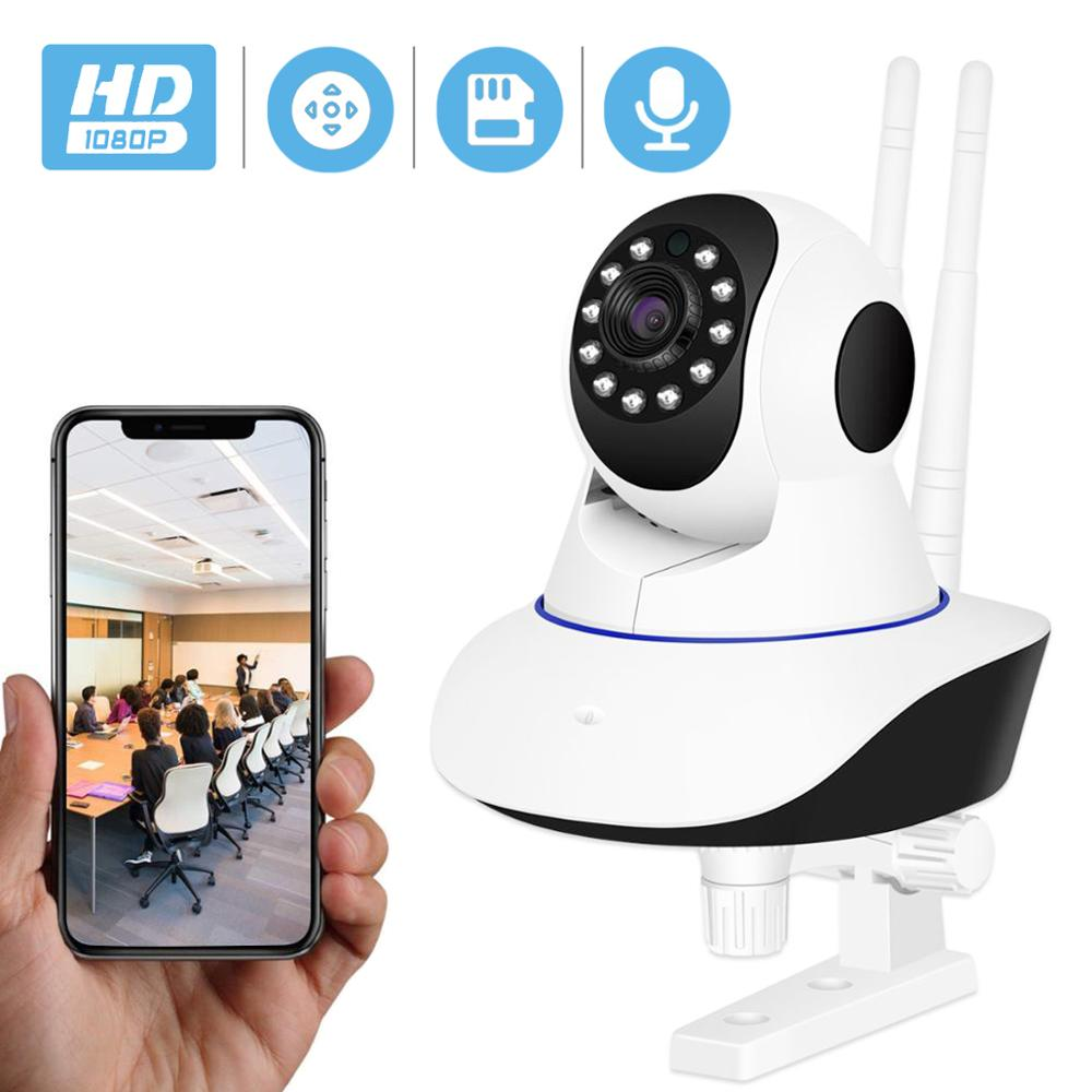 BESDER IP Camera Wireless H.265 1080P Home Security Surveillance Camera WiFi Wired IR Night Vision CCTV Camera 2MP Baby Monitor-in Surveillance Cameras from Security & Protection