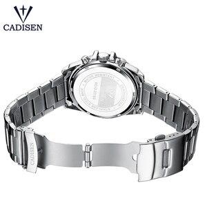 Image 4 - Cadison montre de sport pour hommes, marque de luxe, accessoire militaire, étanche, Quartz, acier inoxydable, tendance décontracté