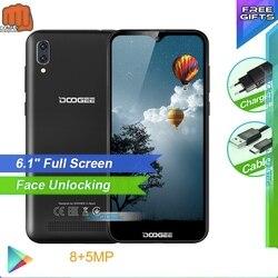 Doogee смартфон с 6,1-дюймовым дисплеем, четырёхъядерным процессором MT6580A/WA, ОЗУ 1 ГБ, ПЗУ 16 ГБ, 3400 мАч, X90