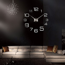Mirrors Digital DIY Wall Clock Mirror Wall Clock Home Decoration Home Decor sw5