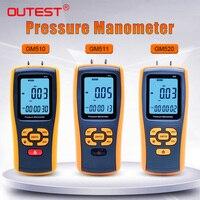 High-precision digital pressure gauge GM510\/GM511\/GM520 micro-pressure gauge differential pressure meter Air pressure gauge