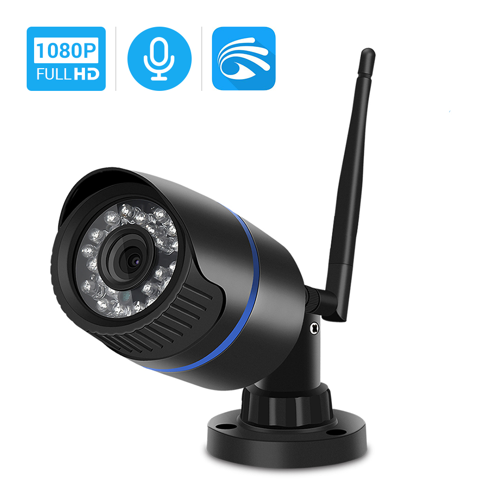 Hamrolte Yoosee Wifi Camera HD 1080P Bullet Outdoor Onvif  Wireless Camera Audio Recording Motion Detection Remote Access RTSP