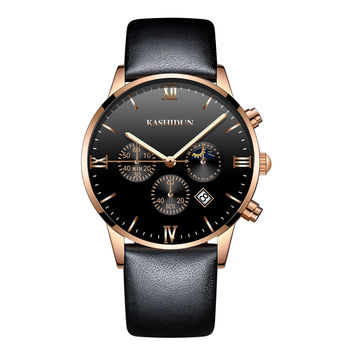 Mens Watches Top Brand Luxury Clock Sport Watch Men Army Military Black Leather Quartz Watch Fashion Casual Relogio Masculino