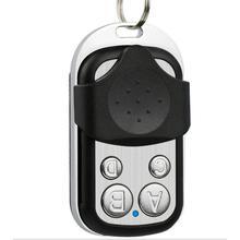 Клонирование пульт дистанционного управления электрический копии контроллер беспроводной передатчик переключатель 4 кнопки ключа дубликатор 433 МГц двери гаража