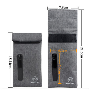 Smoking Smell Proof Bag For Herbs Perfect Stash Bag Lined With Activated Carbon Deodorant Pack For Coffee Teas Dried Foods Herbs