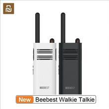 Yeni Youpin Beebest Xiaoyu Walkie Talkie uzun bekleme hoparlör hızlı takım iki yönlü telsiz telsiz Walkie Talkie
