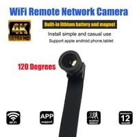HD 4K Wide Angle WIFI Mini Camera Webcam IP P2P Mini Camera DIY Wireless Camera Module Motion Activated DV Mini Camcorder
