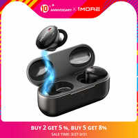 1MORE EHD9001TA TWS Noise Cancelling Hybrid Bluetooth 5.0 Earphones,Support aptX / AAC HiFi Wireless Charging Fast Charging