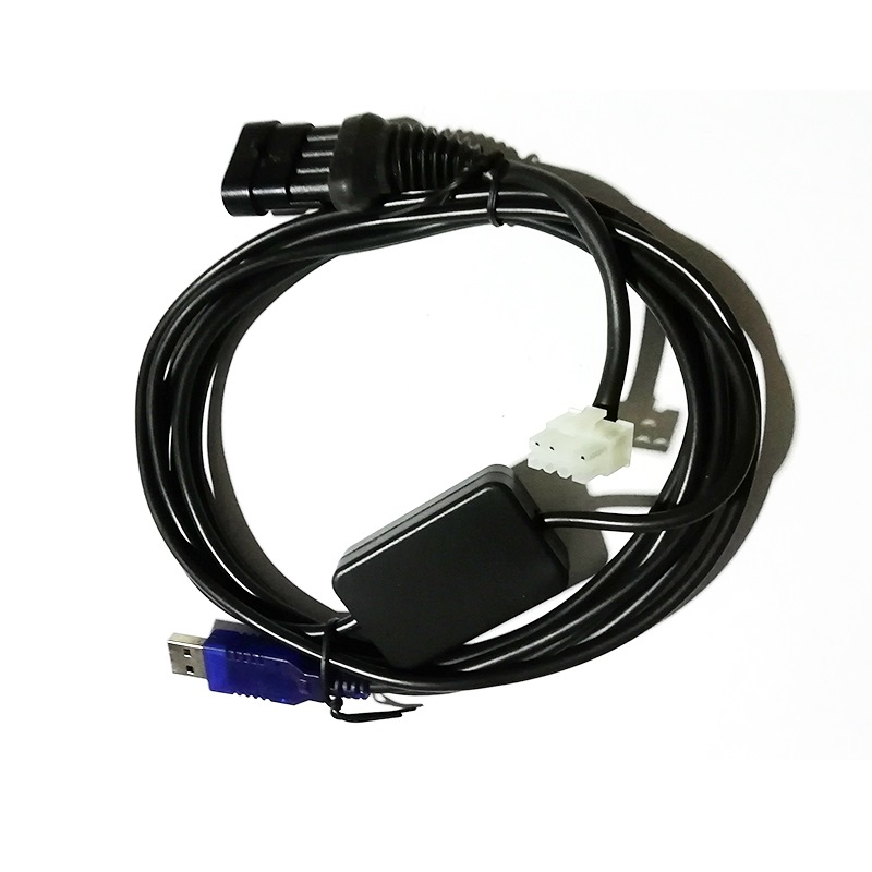 GAS ECU to PC USB cable Debugging cable/ diagnosis cable for AC300 / AEB <font><b>mp48</b></font> image