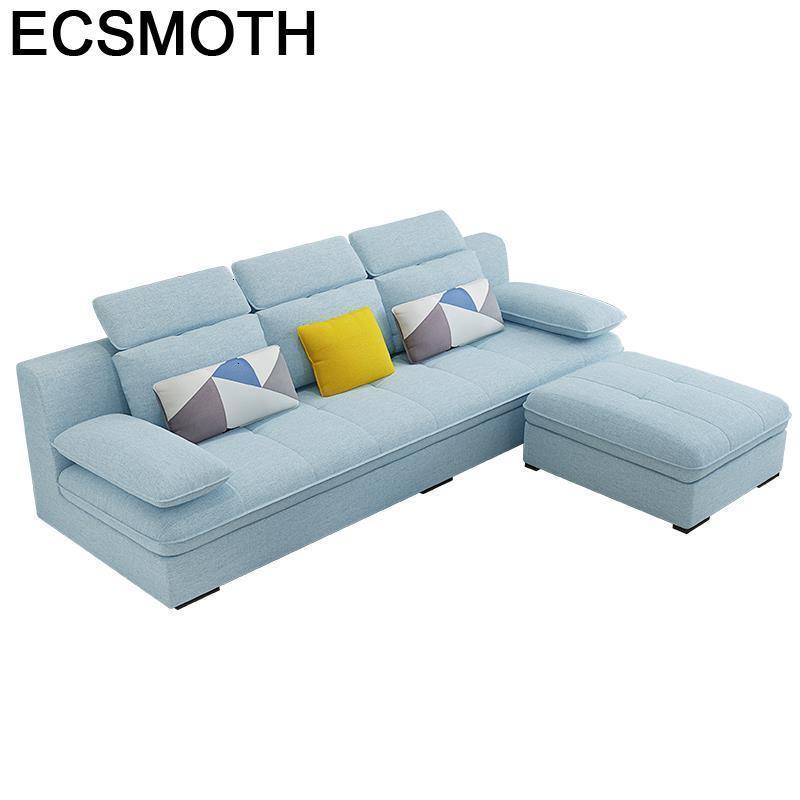 Home Sectional Para Mobili Per La Casa Puff Asiento Pouf Moderne De Sala Mobilya Set Living Room Furniture Mueble Sofa