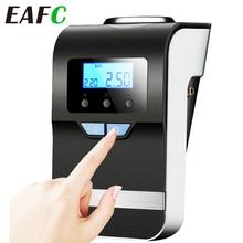 EAFC bomba inflable de aire portátil 4 en 1 para coche, Inflador de neumáticos eléctrico, 12V, luz para compresor de aire Digital para barco y coche