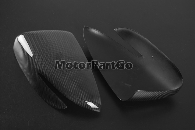 Real Crabon Fiber Mirror Cover 1 pair for  Kia K3 with turn signal 2014-2017 T252M 5