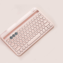 B.O.W Small Bluetooth Wireless Keyboard for Tablet Smartphon