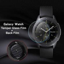 Для samsung Galaxy Watch 42 мм защитная пленка из закаленного стекла/задняя пленка для экрана