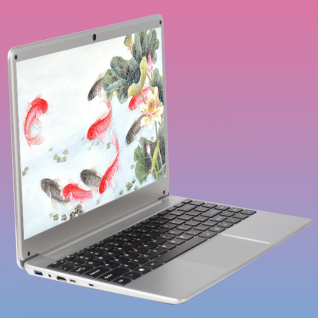 16 ГБ DDR3 + 1000 Гб ноутбук 14,1 дюймов ноутбук windows 10 ПК компьютер Intel N3520 2,16 ГГц четырехъядерный
