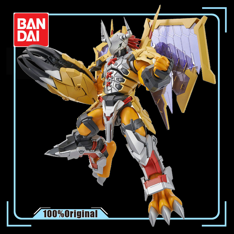 BANDAI Digital Monster Assembled Model WarGreymon 20cm Toys Statue Action Figure Model Collection Toy