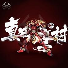 COMIC CLUB IN STOCK Devil Hunter Red Warrior mb Sanada Yukimura GUNDAM BAEL Alloy Framework action robot figure toy