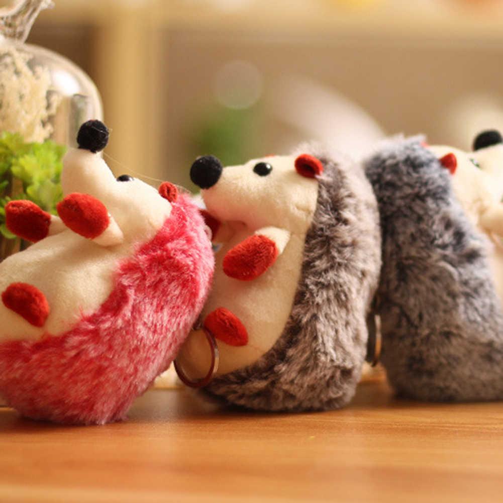 かわいいぬいぐるみハリネズミ動物ぬいぐるみペンダントキーチェーンリングバッグ装飾