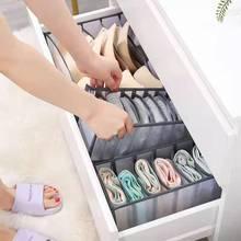 1/3Pc Underwear Scarves Socks Bra Storage Box Three-In-One Multi-Function Drawer Closet Organizers Dormitory Home Storage