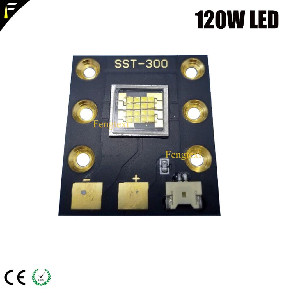 SST-300 120w LED Cold White Color for Stage Light Projector DIY LEDs etc