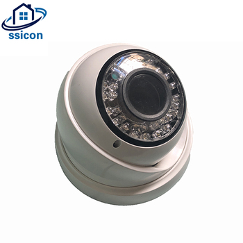 SSICON 2MP AHD CCTV Camera 2.8-12mm Manual Zoom Lens Plastic Dome IR Night Vision Infrared Security Camera free shipping evtevision 720p 2 8 12mm vari focal lens ahd camera indoor plastic dome 15m night vision cctv security camera