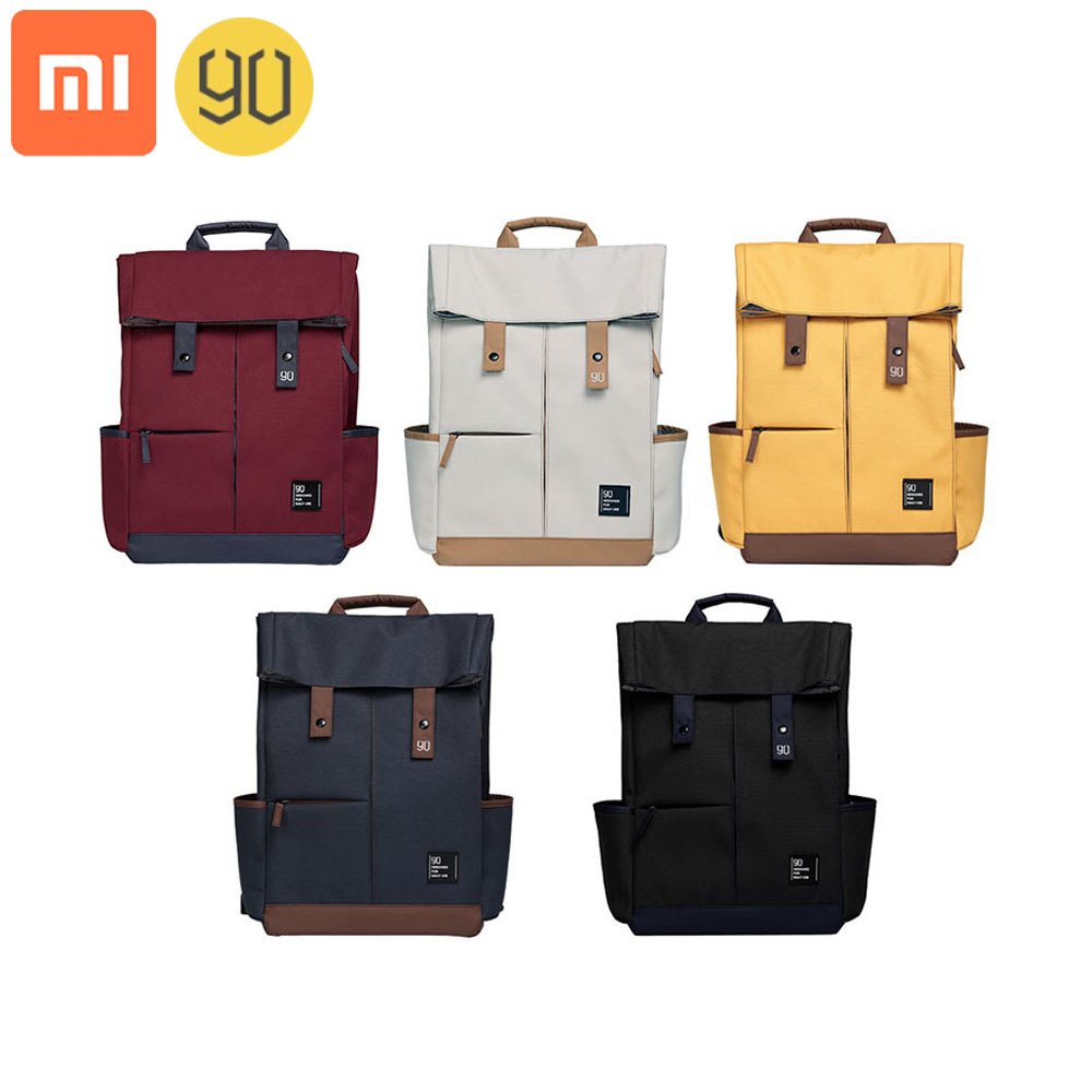 Xiaomi 90fun Backpack Ipx4 Waterproof 13L Large Capacity Knapsack Unisex College Leisure Fashion 14/15.6 Inch Computer Bag image