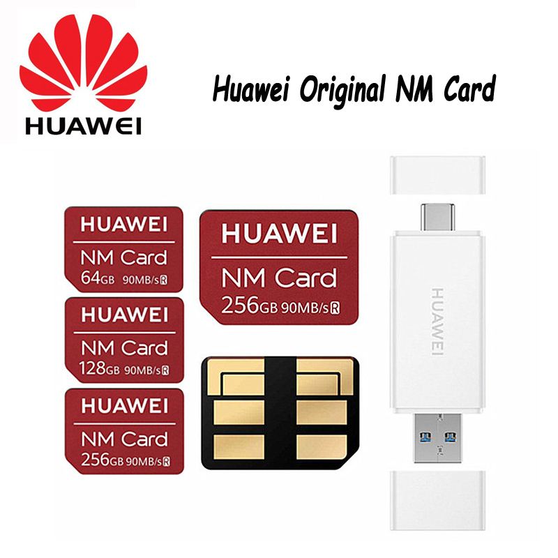 Huawei Mate20-X-P30 Memory-Card-Reader Nm-Card Pro To with Usb3.1-Gen 1-Nano Apply 90mb/S