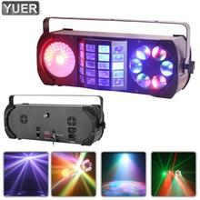 Wash Laser Spot 3IN1 Effect Light DMX Voice Control Stage Lighting DJ Disco Party Indoor Nightclub 3/23CH Concerts Dance Floor