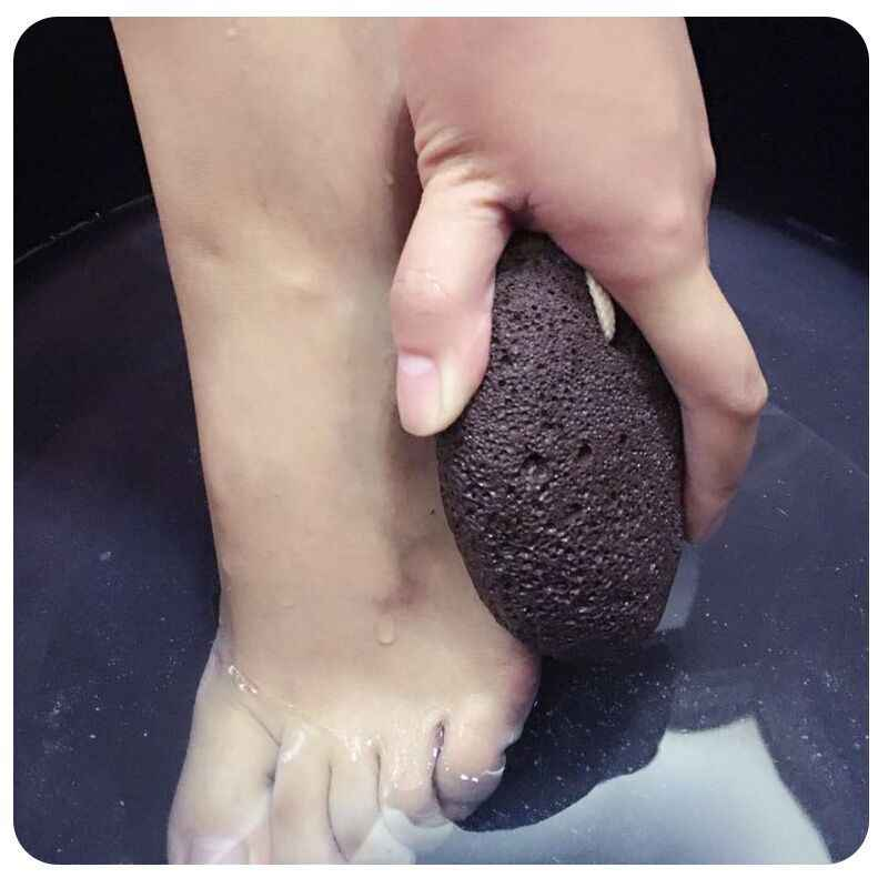 1PC Foot Stone Natural Lava Massage Pumice Volcanic Stone Foot Care Clean Dead Hard Skin Callus Remover Foot Care Tool