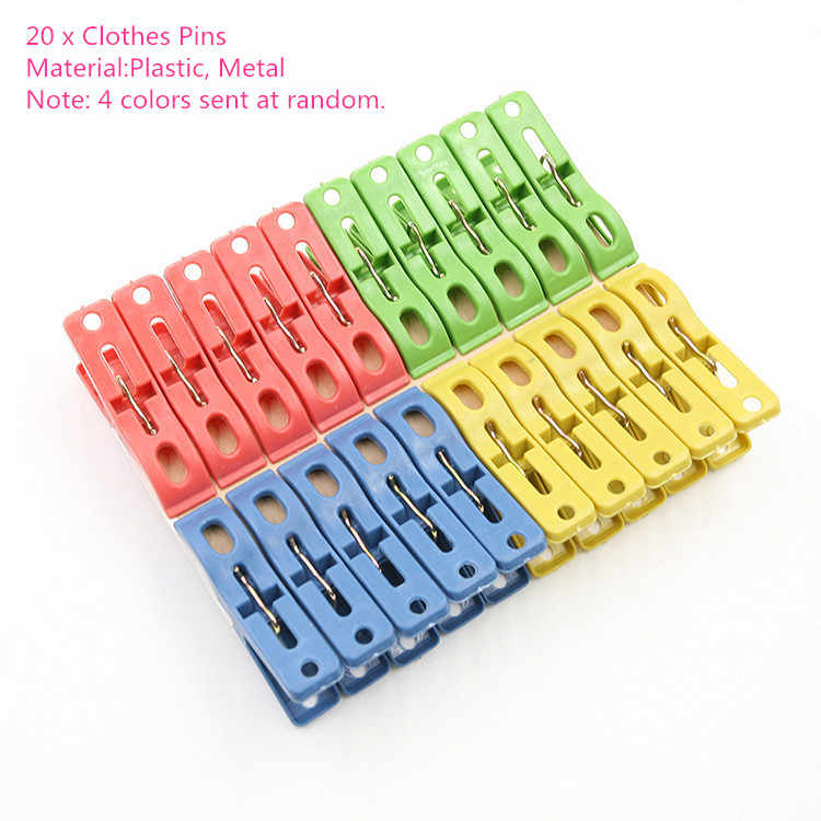 Wooden/Plastic/Iron Clothespin Craft Clips Clothes Clips Paper Pin  School Office Stationery Suspender Clips Clothes Accessories