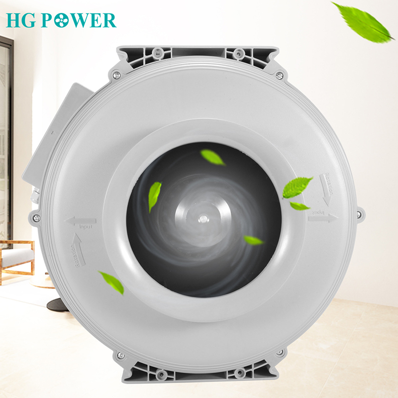 4~8 Inch 220V Strong Power Plastic Round Centrifugal Fan Ultra Silent Air Blower Fan Air Extractor Vent For House Ventilation