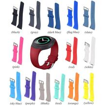 Comfortable Smart Soft Rubber Sport Watch Strap Band Quick Release Fashion Silicone Strap Band For Samsung  Gear S2 R720 R730 excellent quality 2016 new women luxury silicone watch band strap for samsung galaxy gear s2 sm r720 best price