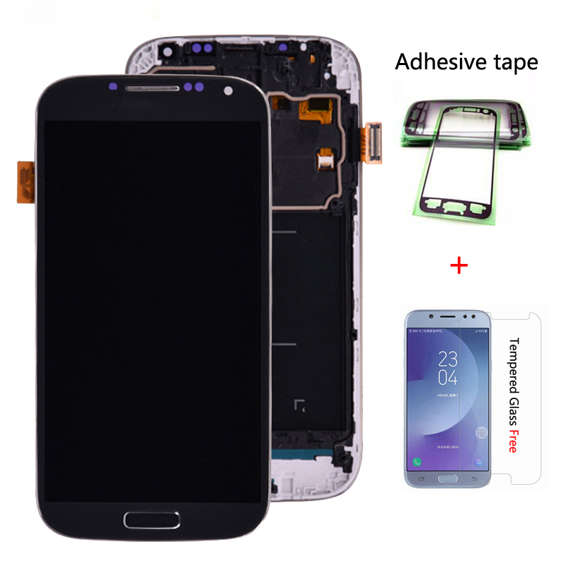 LCD For Samsung Galaxy S4 Display Touch Screen GT-i9505 I9500 I9505 I9506 I9515 I337 Digitizer Assembly With A Screen Protector
