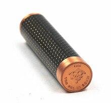 Bateria mecânica de fibra de carbono, 18650 mod vaporizador vapor mech mod vs nemesis mod