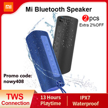 Xiaomi Mi Portable Bluetooth Speaker Outdoor 16W TWS Connection High Quality Sound IPX7 Waterproof 13 hours playtime Mi Speaker