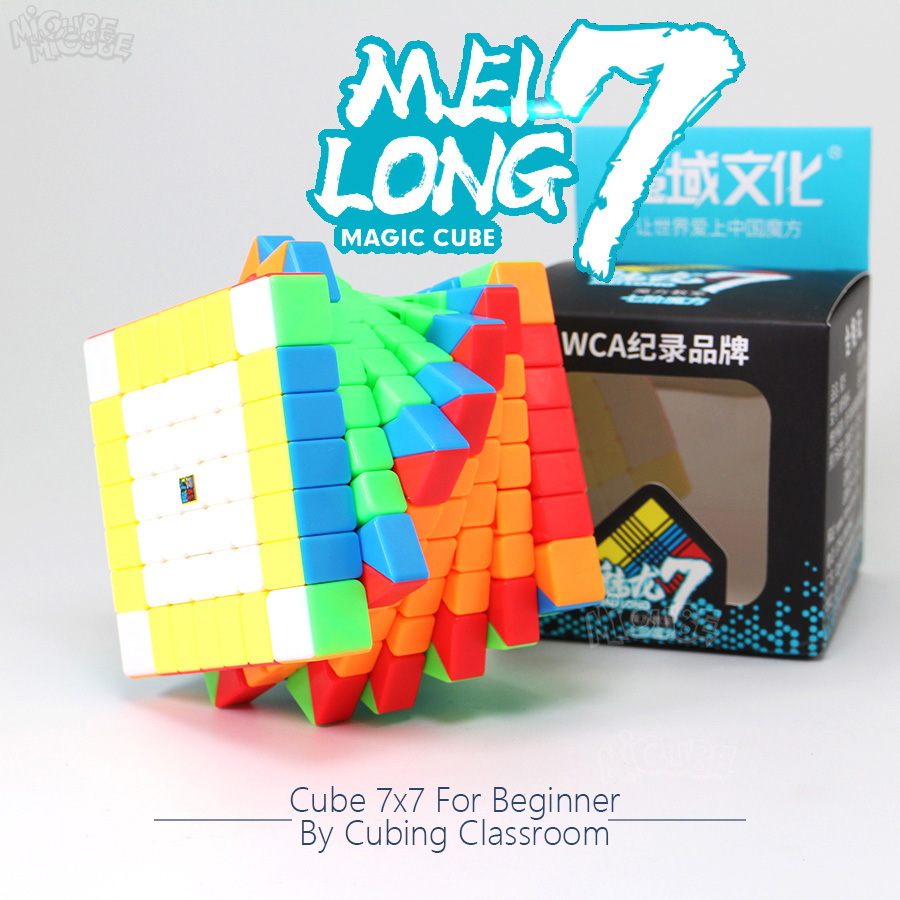 Moyu Melilong 7x7x7 Cube Speed 7Layers Stickerless Frosted Surface Neo Puzzle 7x7 Cubo Magico 7*7*7 Education Toys For Children