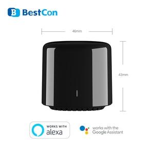 Image 3 - 3 sztuk Broadlink RM RM4C ue inteligentne IR pilot zdalnego sterowania inteligentnego domu Bestcon SCB1E WIFI przełącznik działa z Sonoff Google Home