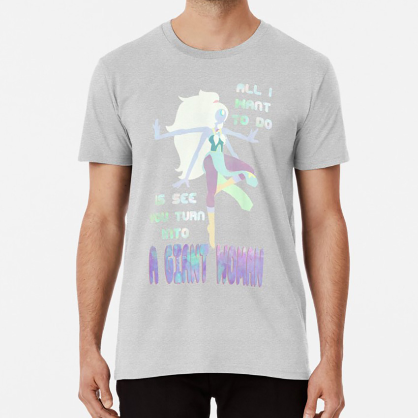 Giant Woman T shirt steven stephen universe u su cartoon stevenbomb bomb pearl image