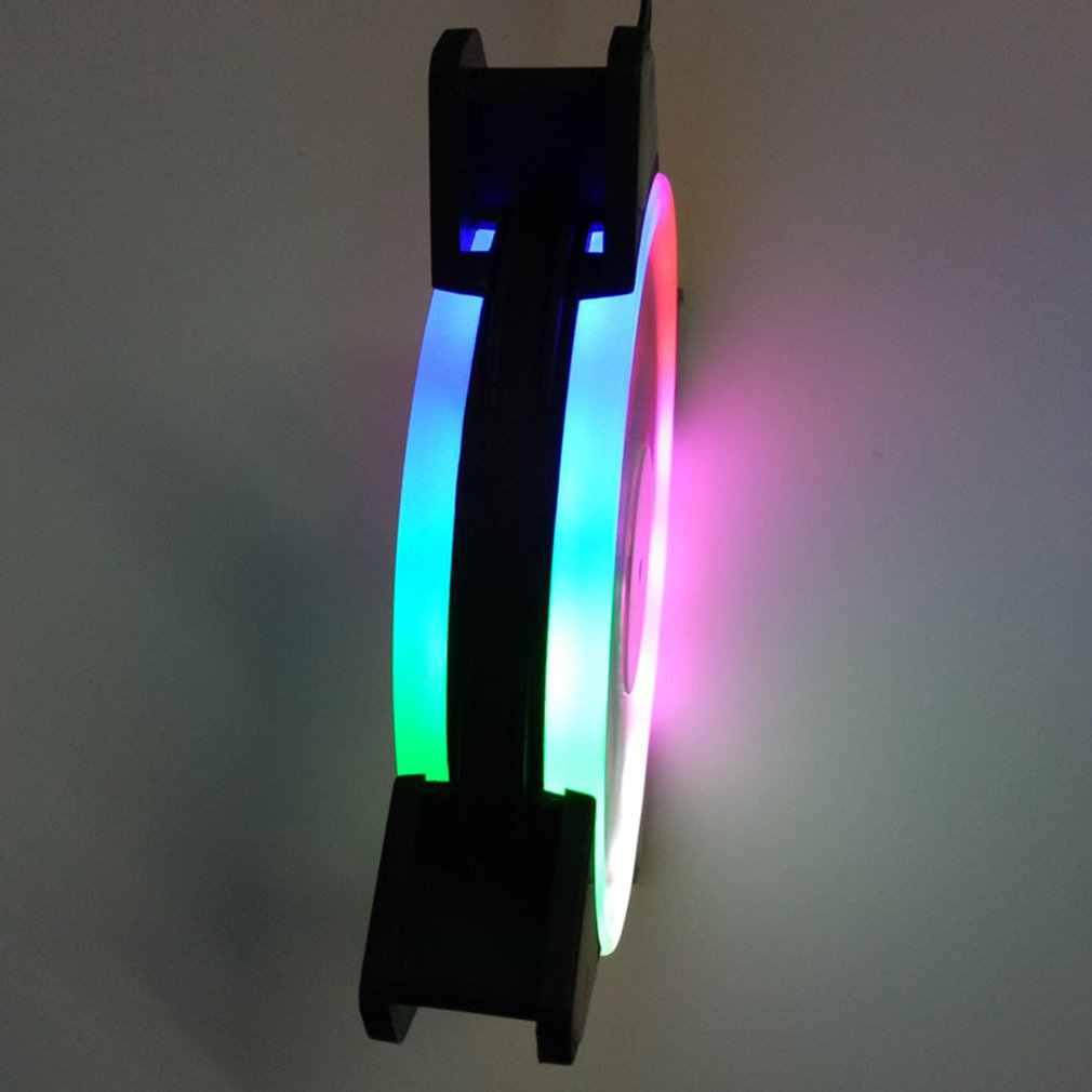 Led ライト超静音耐久性のあるアルミ pc の cpu クーラーサイレント冷却ファン cpu クーラー用コンピュータ