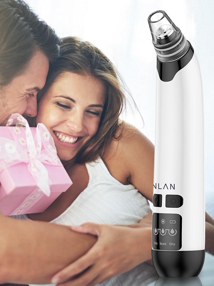 ANLAN Removal Pimple Sucker Acne-Extractor Blackhead-Remover Deep-Pore-Cleaner Vacuum-Suction