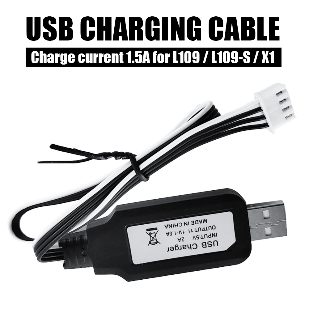 L109 L109-S USB Charging Cable Voltage 5V Battery Charging Cable Line Safe Material Cord Uav Charger Line Cable