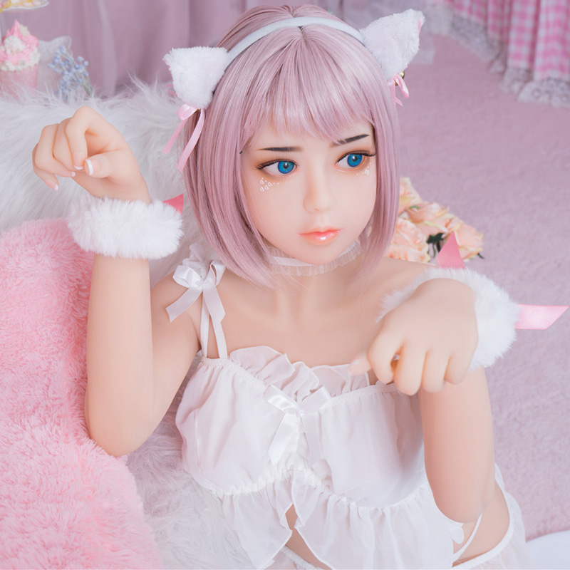 140cm B Cup Japanese Silicone <font><b>Sex</b></font> <font><b>Dolls</b></font> <font><b>Asian</b></font> Face Smaller Breast Full Body Real Sized Anime <font><b>Sex</b></font> <font><b>Doll</b></font> With Oral Vagina Anal <font><b>Sex</b></font> image