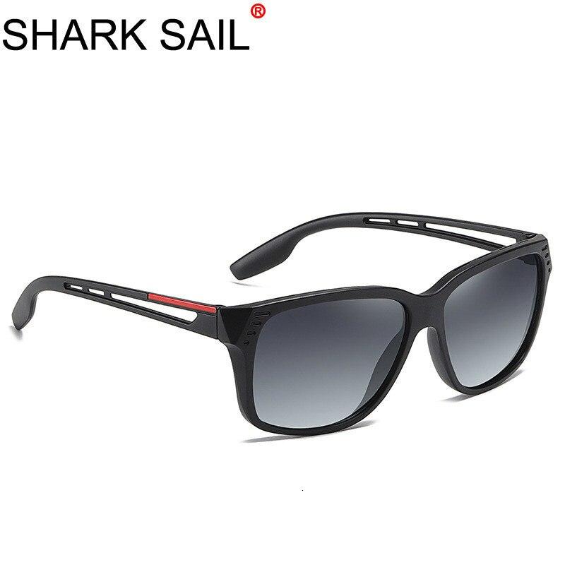SHARK SAIL Optical Brand Design New UV400 Sunglasses Men Fashion Male Eyewear Sun Glasses Travel Fishing Oculos