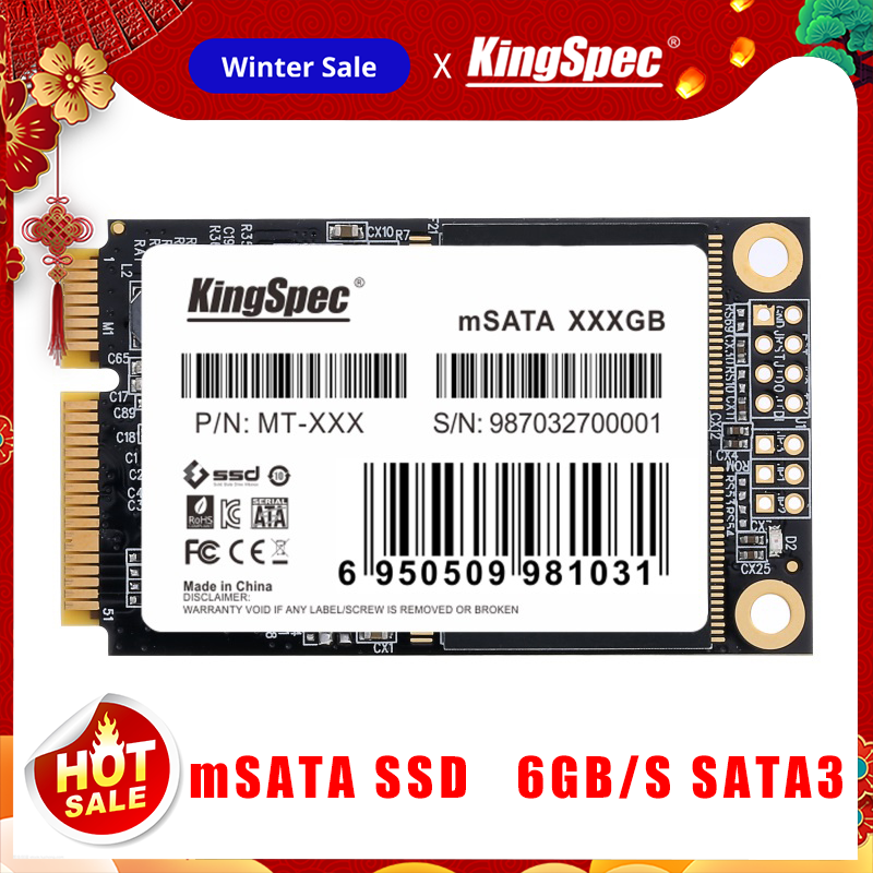 KingSpec mSATA SSD 120gb 240gb 512GB mSATA SSD 1TB 2TB HDD For computer 3x5cm Internal Solid State hard Drive for hp laptop title=
