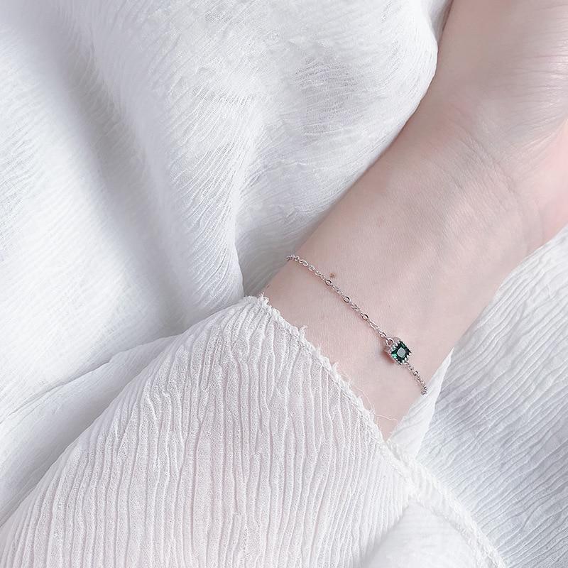 Купить женский минималистичный браслет leouerry элегантный из стерлингового