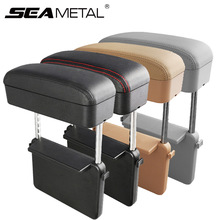 Armrest Elbow Console-Storage Universal Support with Organizer Adjustable-Height Fit-For