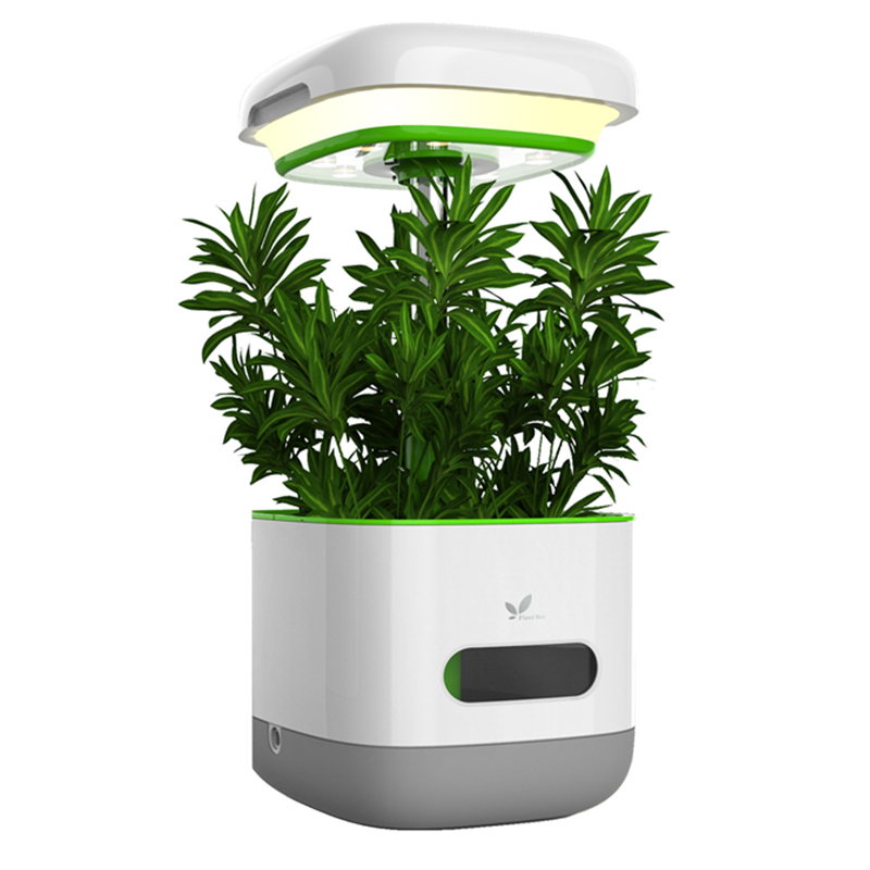 Indoor Home Garden Plant Electric Automatic Watering Flower Pots Planter Irrigation LED Light Lamp Nursery Decoration DIY Toys